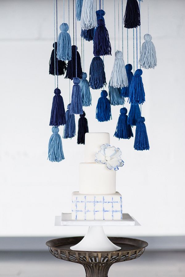 Wedding Cake Table with Tassels