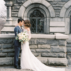 Belvedere Castle Central Park Wedding