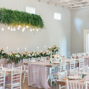 Romantic Pink and White Wedding