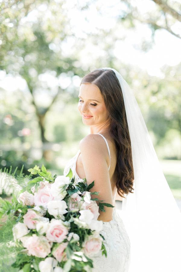 Elegant Arm Bouquet for Bride