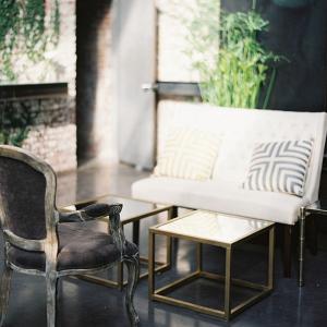 Modern lounge area