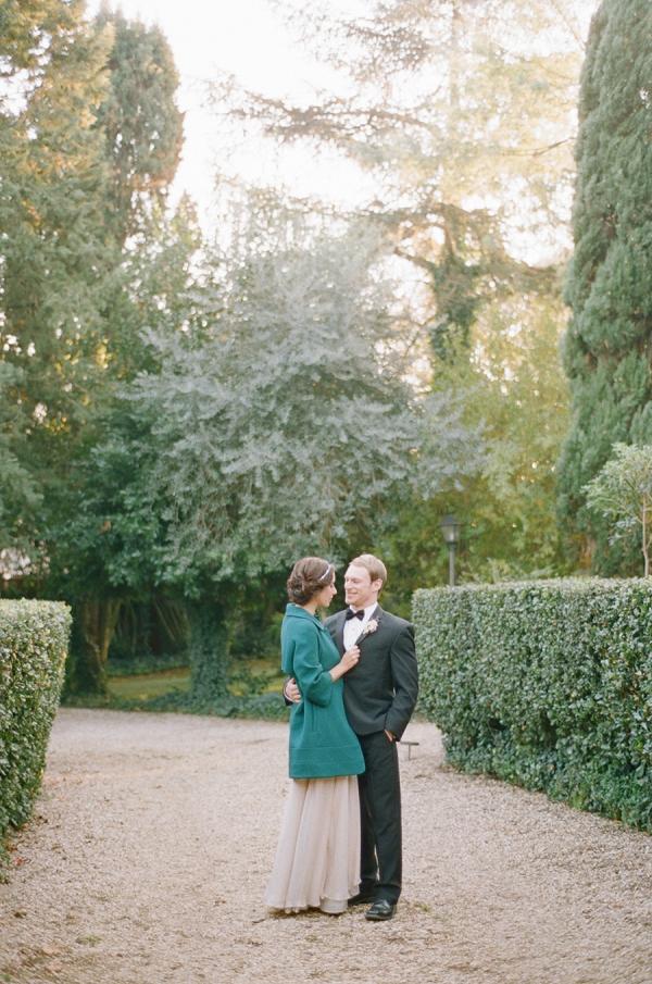 Rome garden wedding