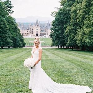 Bride at Biltmore House