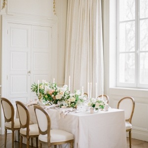 Elegant Wedding Table in White