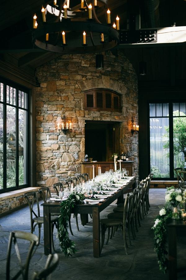 Farmhouse Table for Wedding