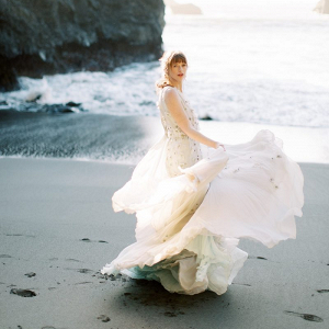 Pacific ocean sea inspired wedding