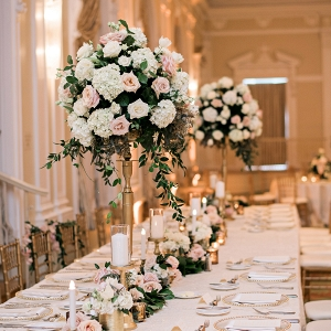 Tall Rose Centerpiece