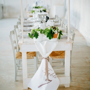 Elegant Farmhouse Style Wedding