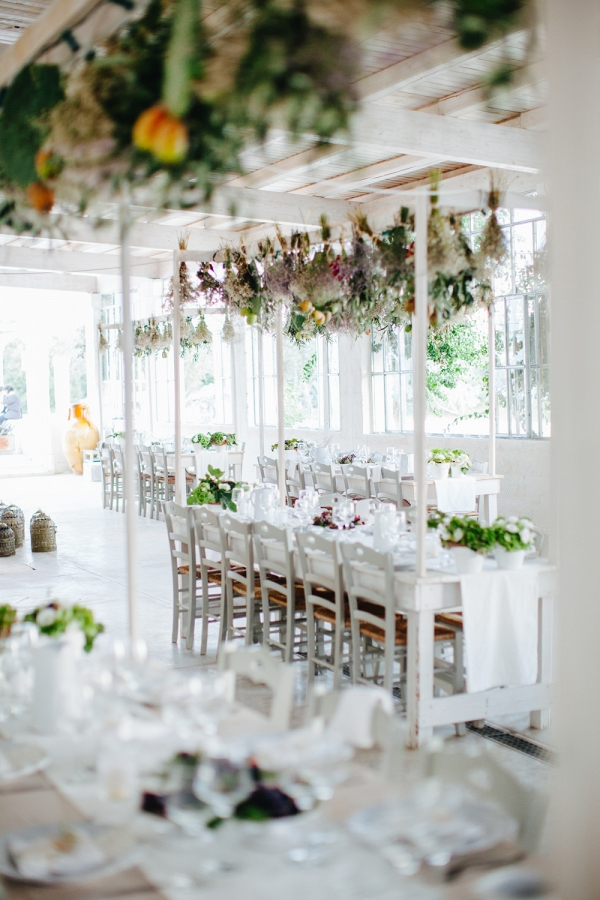 Modern Herb Wedding Decor
