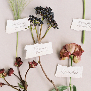 Flora with names