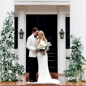 Mansion wedding ceremony