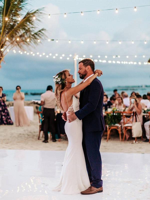 destination wedding at el dorado resorts in playa del carmen