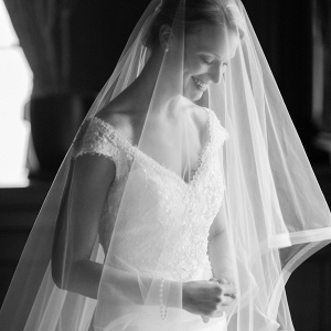 Veiled bride