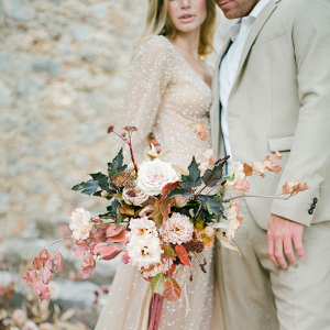 Get inspired by this styled Boheme elopement