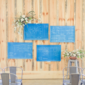 Unique ceremony backdrops