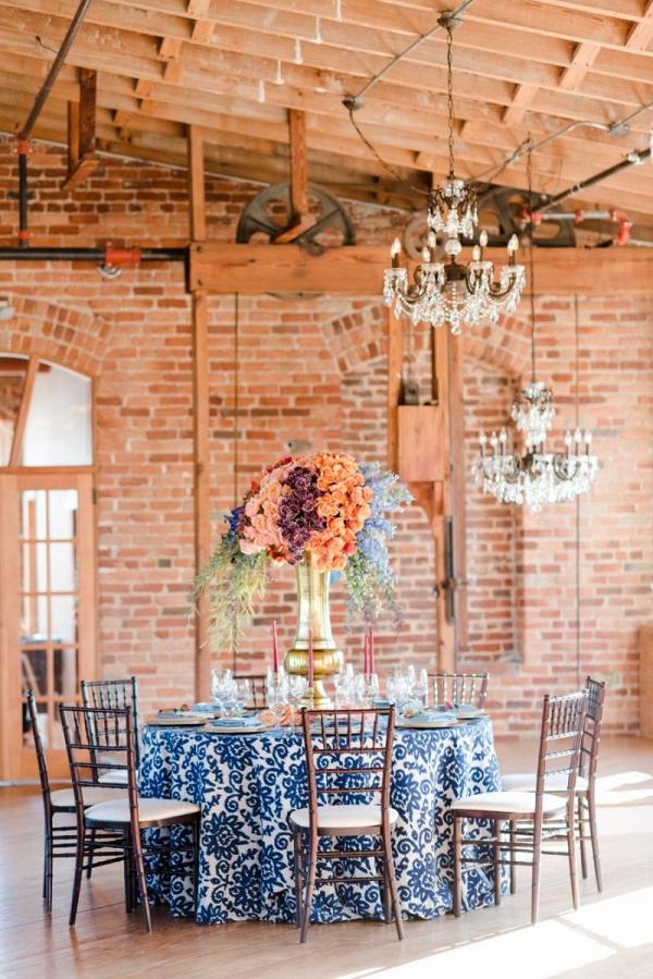 Bold Colorful Wedding Ideas Aisle Society