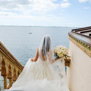 Classic Ringling museum bride