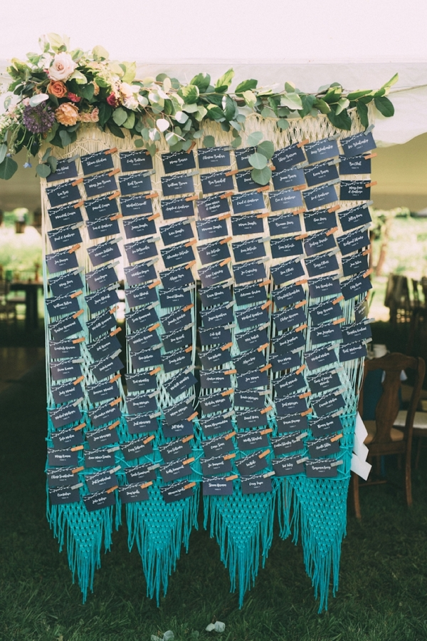 Colorful Backyard Bohemian Wedding