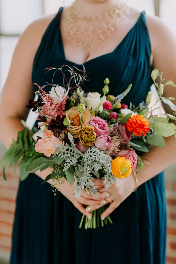 Colorful bouquet on Every Last Detail