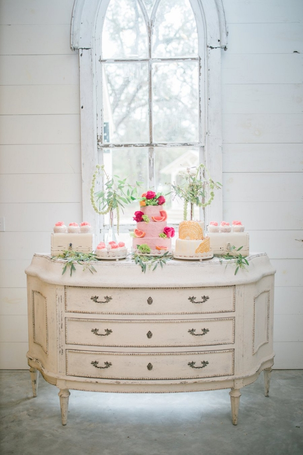 Dessert table on Every Last Detail