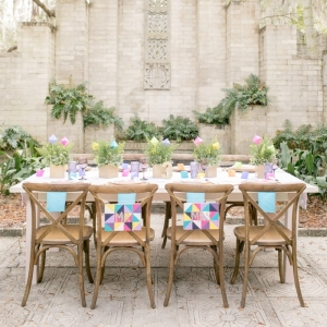 Colorful Geometric Wedding Ideas