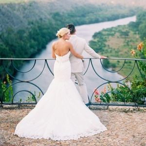 Wedding portrait in Punta Cana