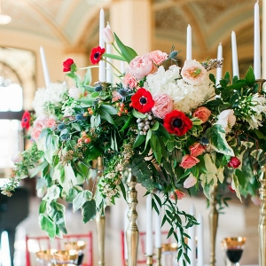 pink and red wedding inspiration from Every Last Detail