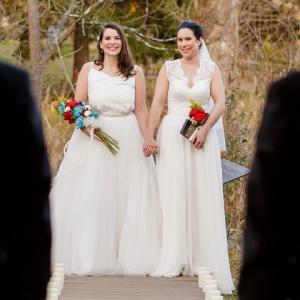 Mother Daughter Double Wedding