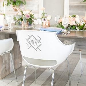 Vinyl chair decor