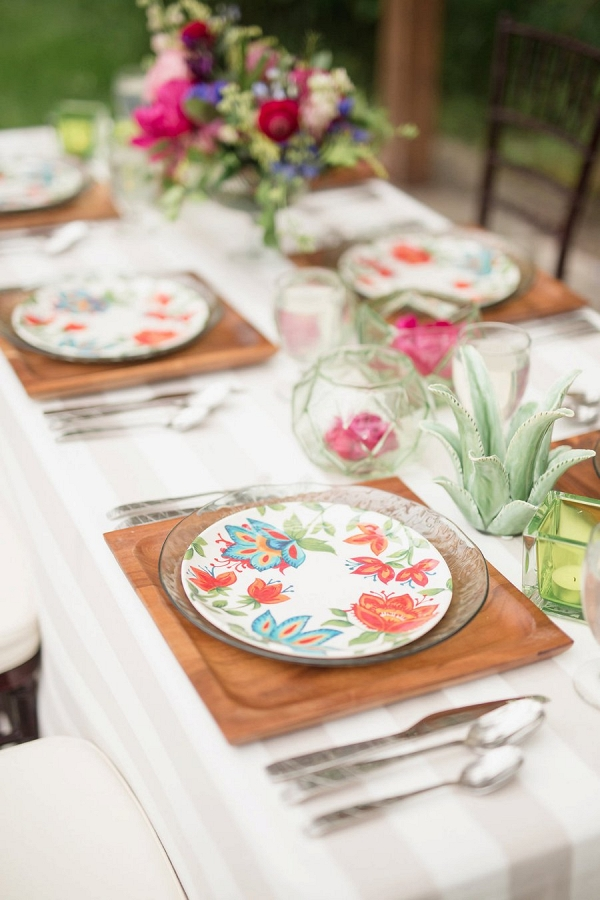 colorful modern wedding inspiration from Every Last Detail