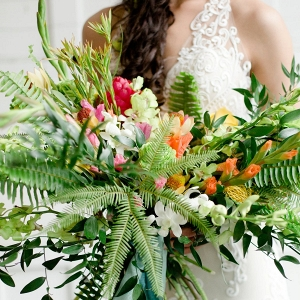 Tropical bouquet on Every Last Detail
