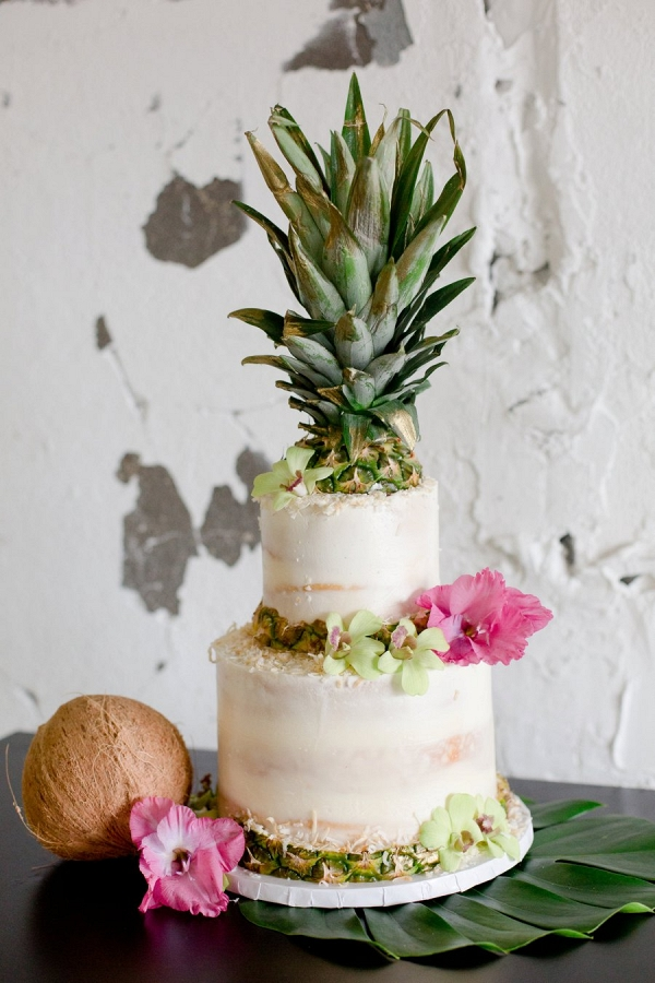 Pineapple cake on Every Last Detail