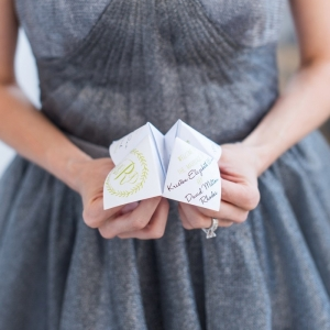 Fortune teller wedding program
