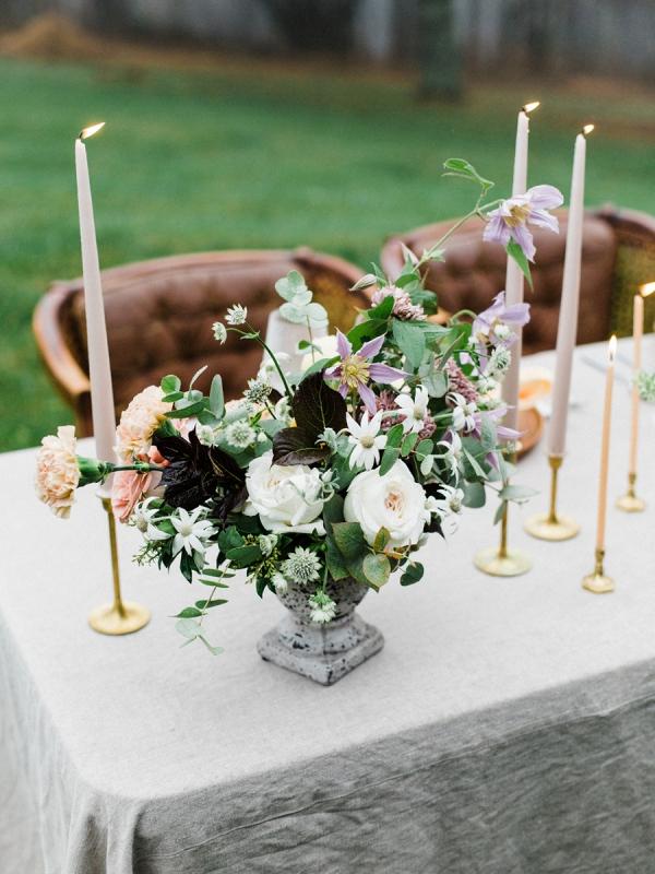 Organic mountain wedding