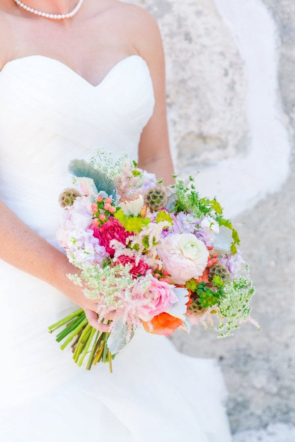 pink and white bouquet on Every Last Detail