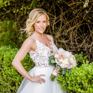 Lace Hayley Paige gown