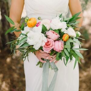 Pink organic bouquet