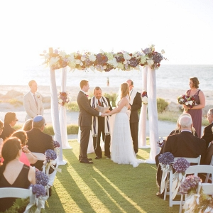 Seaside ceremony on Every Last Detail
