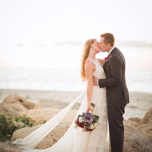 Romantic seaside portrait on Every Last Detail