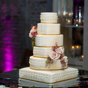 white wedding cake from Every Last Detail