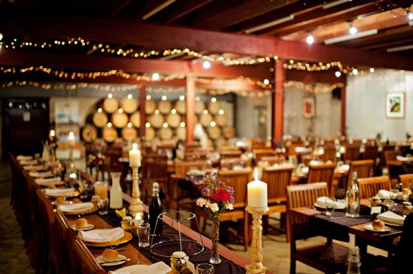 Winery reception