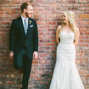 Bride and groom getting married in San Diego