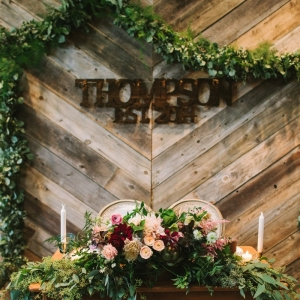 Rustic Urban Sweetheart Table Design