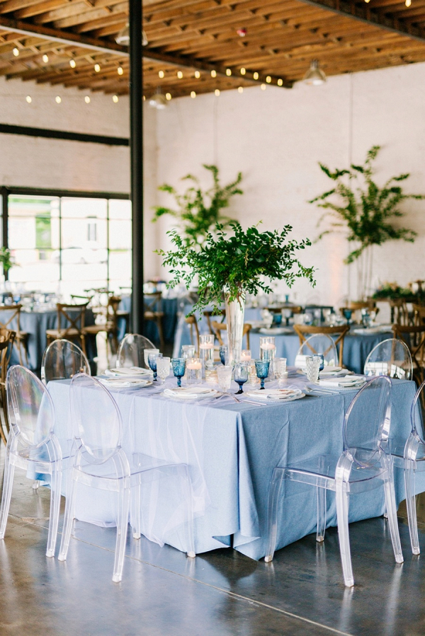 Garden inspired reception