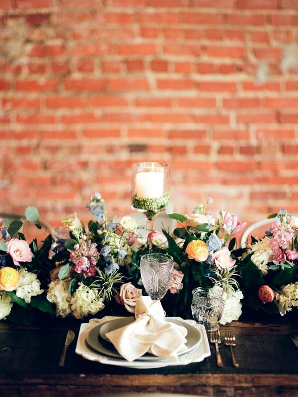 Romantic industrial wedding inspiration
