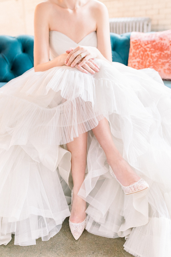 Light Teal Bridesmaid Dress