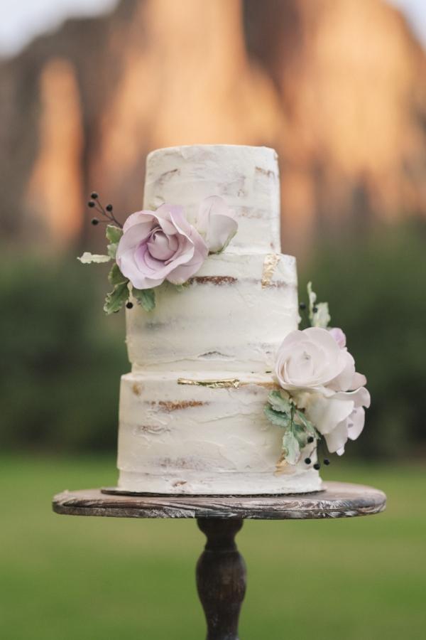 Nearly Naked Cake