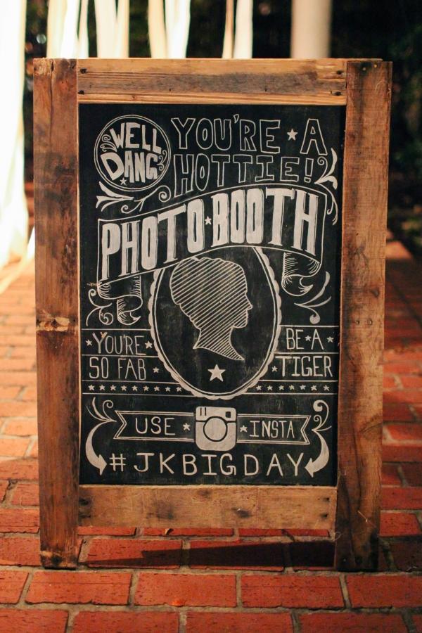 Chalkboard Photobooth Sign
