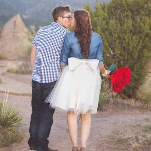 Charming Engagement Portrait