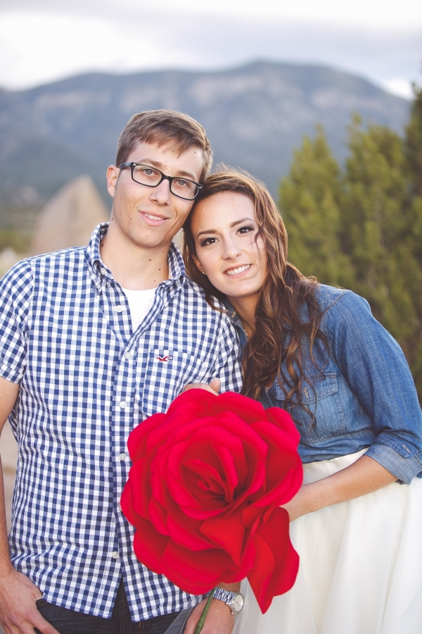 Cute New Mexico Engagement Shoot